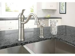 water ridge pull out kitchen faucet brushed nickel kitchen faucet delta pull aerator waterridge