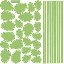 leaves and stems fabric wall decals u2013 wall dressed up