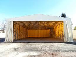 capannone in pvc usato le coperture industriali di aviva tunnel autoportante frontale