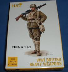British Flag Ww1 Hat 8177 Ww1 British Heavy Weapons 1 72 Scale Plastic U2013 Drumandflag