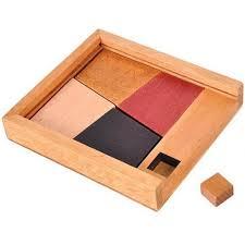 box wooden fan box wooden fidget burr puzzle memory concentration