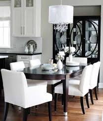 White Dining Table With Black Chairs Gorgeous Black Dining Table White Chairs Cozy And Chairs Chair