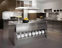 Metal Kitchen Island  Home Ideas Collection  Sense Of - Metal kitchen cabinets