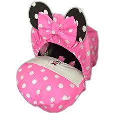 housse de siege auto personnalisé personnalisé minnie mouse housse de siège auto pour bébé amazon fr