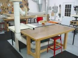 Table Saw Dust Collection by Terry Hatfield U0027s Shop