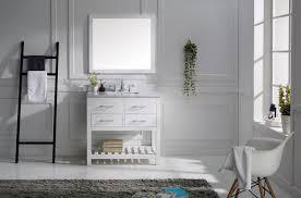 36 Bathroom Vanity by Virtu Usa Caroline Estate 36 Single Bathroom Vanity Set In White
