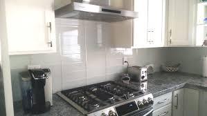 white glass 4x12 tile kitchen backsplash subway tile outlet