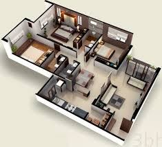 Drawing Floor Plans In Excel by 1629 Sq Ft 3 Bhk 3t Apartment For Sale In Excel Group Ahmedabad