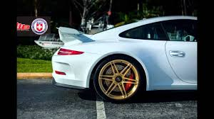 gold porsche gt3 porsche 991 911 gt3 on gold hre wheels youtube