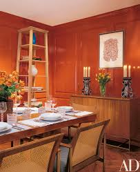 how to decorate with orange photos architectural digest