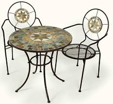 patio bistro table and chairs mosaic bistro table sets ellister zurich mosaic bistro set patio
