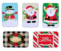 gift card tin christmas gift card tin holders set of 4 health