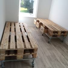Industrial Style Furniture by Pallet And Scaffold Single Beds With Storage From The Rat And