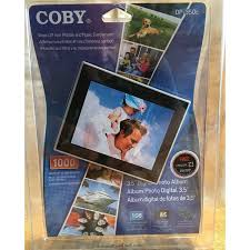 photo album that holds 1000 photos new coby 3 5 digital photo album mp3 player holds 1 000
