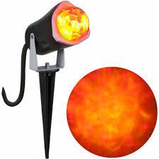 halloween led spotlights outdoor lightshow spotlight fire and ice walmart com