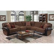 Leather Sectional Sofa With Power Recliner Auburn Brown 4 Piece Power Reclining Sectional Rc Willey