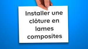 Lames Composite Pour Cloture by