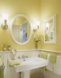 yellow bathroom ideas for home decoration