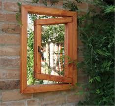 unique garden mirror feature throughout decorating