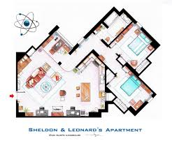 Golden Girls Floor Plan by Sheldon And Leonard U0027s Apartment From Tbbt By Nikneuk On Deviantart