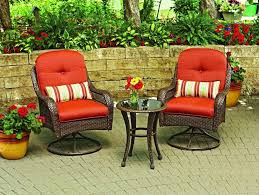 Walmart Patio Conversation Sets Patio Swivel Chair Set Garden Furniture Outdoor Wicker Table