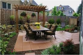 backyards compact small space backyard landscaping ideas designs