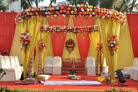 outdoor wedding stage decoration in anna nagar chennai r m k