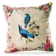 taie d oreiller pour canapé eazyhurry imitation soie imprimé oiseau taie d oreiller avec