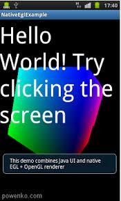 android opengl ndk opengl es tutorial listing powenko 柯博文
