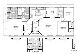 3 bedroom modular home floor plans the stanley modular home plan manufactured floor plans cottage
