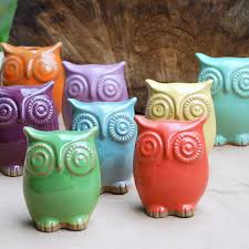 Owl Home Decor Best Ceramic Owl Figurine Products On Wanelo