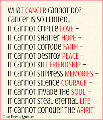 quotes for encouragement during cancer what cancer cannot do cancer is so limited quotes u0026 sayings