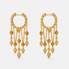 earrings in gold plain gold earrings buy 200 plain gold earring designs online