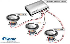 3 2 ohm dvc subwoofer wiring diagram wiring diagram simonand