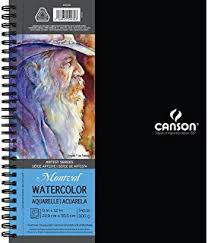 amazon com 100 sheet sketchpad artist pro watercolor and