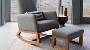 Modern Rocking Chair For Nursery Best 25 Modern Gliders Ideas On Pinterest Nursery Side Table
