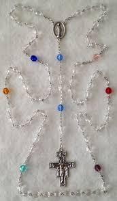franciscan crown rosary rosaryandchaplets franciscan crown rosary 7 joys of
