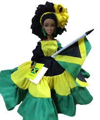 Jamaican Flag Shirt Miss Jamaica Independence Doll Sun Island Jamaica