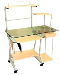 wood desk with glass top wood desk with glass top office table glass top glass home of desk