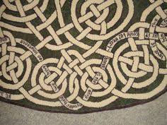 Celtic Rugs Celtic Love Knot Rug 46