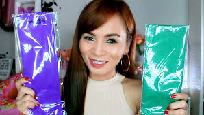Best Temporary Hair Color For Dark Hair How To Color Hair Using Crepe Paper Cheap And Easy Hair Hack