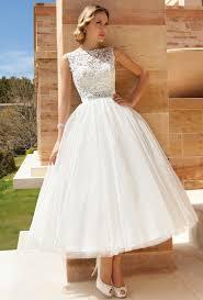 tea length wedding dresses interesting tea length wedding gown