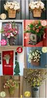 Decorative Wreaths For Home by 36 Creative Front Door Decor Ideas Not A Wreath Home Stories A