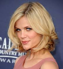 best shoulder length haircut with side bangs medium length bob