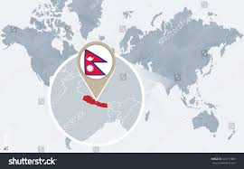 Where Is Nepal On The Map Nepal On A World Map Where Is Nepal On A World Map Nepal On A