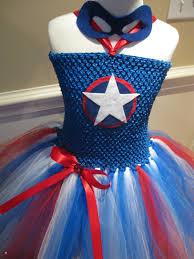 tutu spirit halloween captain america tutu dress avengers super by tiedyedfairytales