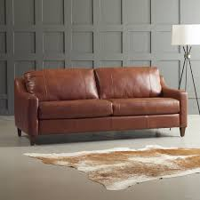Leather Studio Sofa Savings Jesper Leather Sofa By Dwellstudio Price Sofas