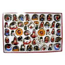 kurt adler wooden ornaments ebay