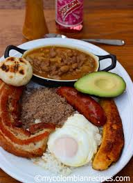 bandeja paisa paisa platter my colombian recipes