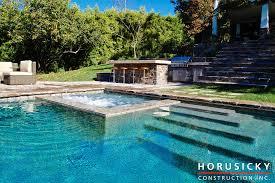 custom designed inground spas horusicky construction